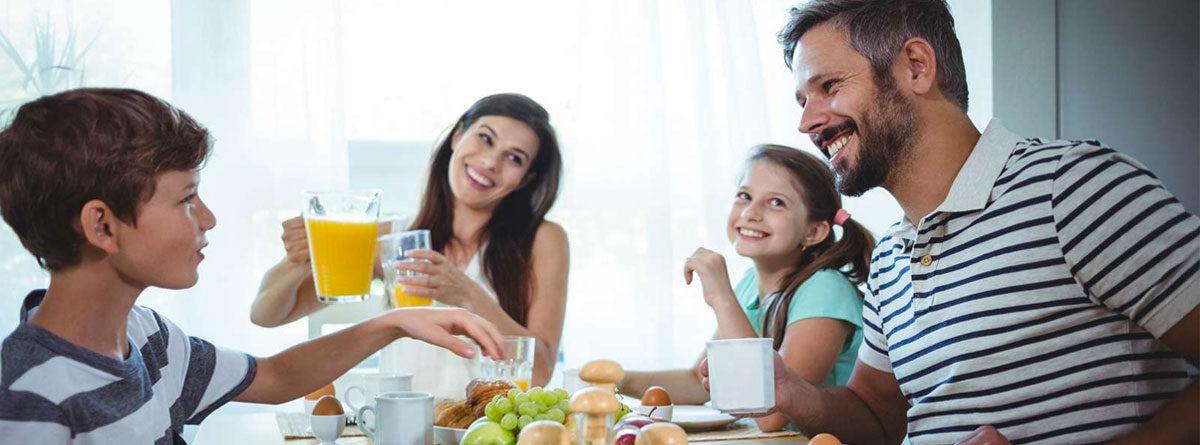 Desayunos en familia